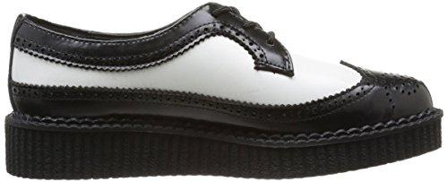 Tuk Spidse Slyngplante, Unisex-adult Høje Sneakers Sort (sort / Hvid)