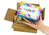 myLAB Box At Home STD Test for Men, Discreet Mail-In Kit, Lab Certified Results in 3 to 5 Days, Chlamydia/Gonorrhea, 3-Site Test (Throat, Rectal and Genital)