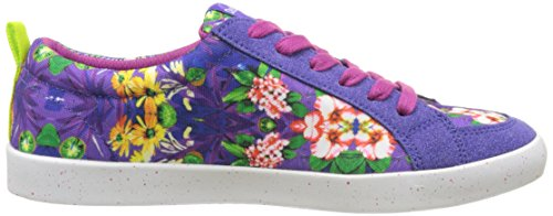 Desigual Shoes_classic, Zapatillas de Running Mujer Morado (3168 Purple Opulence)