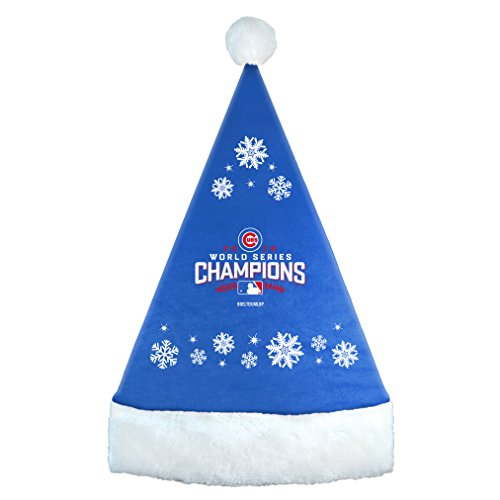Chicago Cubs World Series Champions 2016 Santa (Chicago Cubs Santa Hat)