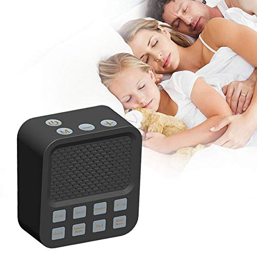 sleep white noise machine soothing natural sounds therapy fo