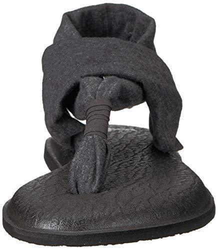 Chancla Lona Sanuk Yoga Carbón Slingshot v4nn7WUR