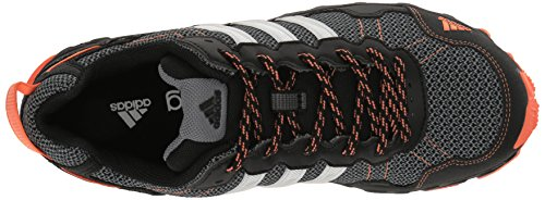 adidas Women's Rockadia Trail W Running Shoe Black/White/Easy Orange 6 M US by adidas (Image #8)