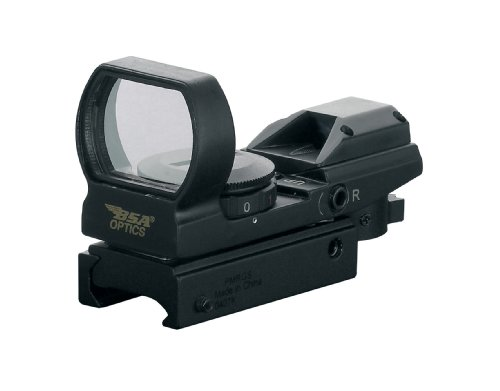 Multi Bsa Sight Reticle - BSA Panoramic Illuminated Green and Red Multi-Reticle Sight