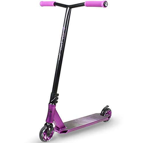 Alloy Aluminum 6061 T6 (VOKUL K1 Complete Pro Scooter for Kids Boys Girls Teens Adults Up 7 Years - Freestyle Tricks Pro Stunt Scooter with 110mm Metal Wheels - High Performance Gift for Skatepark Street Tricks)
