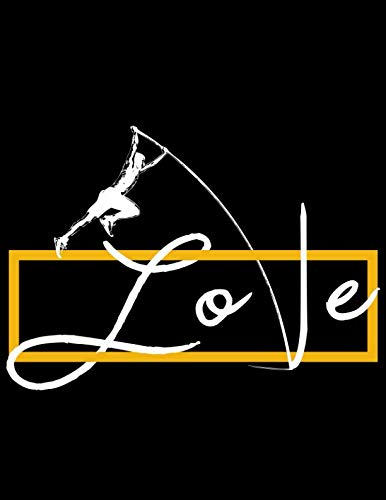 Love Pole Vaulting: Wide Ruled Writer's Notebook for School, Office, or - Writer Leapfrog