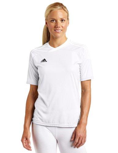 adidas Women's Tiro 11 Short-Sleeve Jersey, White, X-Small