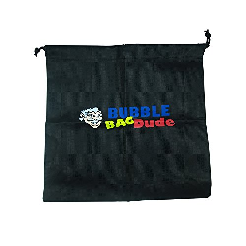 BUBBLEBAGDUDE Bubble Bags 5 Gallon 5 Bag Set - Herbal Ice Bubble Bag Essence Extractor Kit - Comes with Pressing Screen and Storage Bag by BUBBLEBAGDUDE (Image #1)