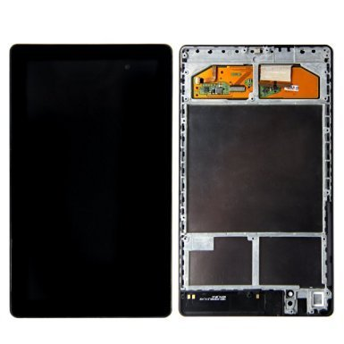 LCD Touch Screen Digitizer Assembly For Google NEXUS 7 2013 Asus ME571K Gen 2nd Frame WIFI version (Nexus 7 Tablet Replacement Screen)