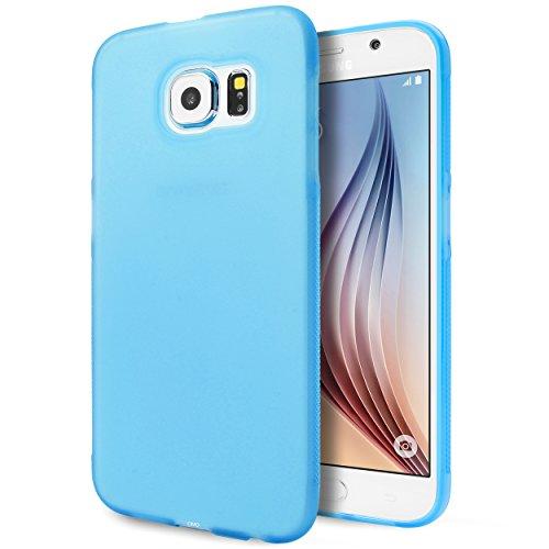 Galaxy S6 Case, Cimo [Matte] Premium Slim Fit Flexible TPU Case for Samsung Galaxy S6 (2015) - Blue