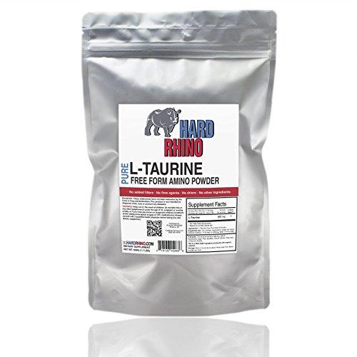 1000G 2.2 libras L-taurina forma libre Amino polvo hoja sellada para su frescura. Ultra puro polvo.