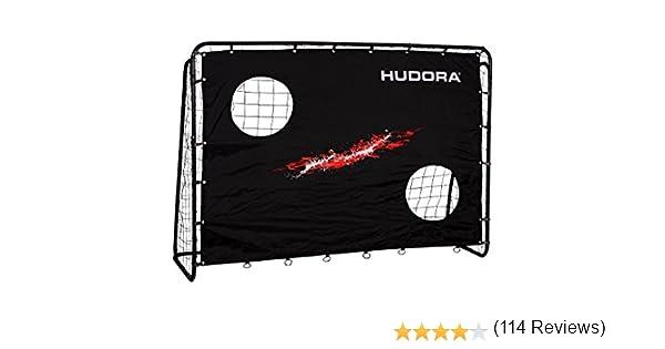 Hudora Trainer mit Torwand-Fußball-Tor Garten-76923 fútbol con ...