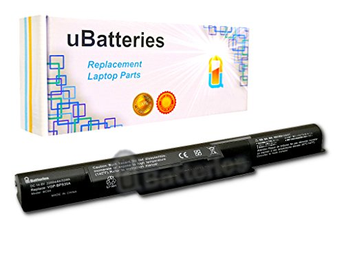 UBatteries 33Whr Laptop Battery Sony VAIO Fit BPS35 SVF-14 SVF-15 - 4 Cell, 2200mAh