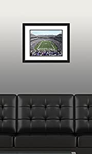 "NFL Baltimore Ravens M&T Bank Stadium, Beautifully Framed and Double Matted, 18"" x 22"" Sports Photograph"