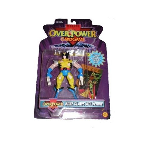 Claws Wolverine Bone (Marvel Overpower Wolverine (Bone Claws) Action Figure)