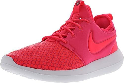 Nike Mens Mens Roshe Two Running Shoes Low Top Lace Up Trail, Pink, Size 10.5 (Roshe Nike Shoes)