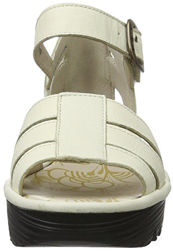 FLYA4|#Fly London Rese730fly, Heels Sandals Para Mujer Hueso (off White 006)