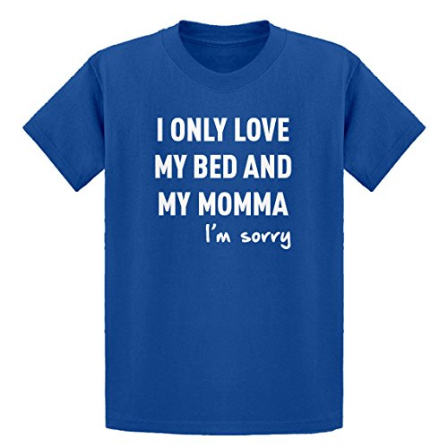 Youth Only Love My Bed Medium Royal Blue Kids T-Shirt