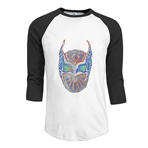 Kalisto Wrestler Logo Mask Burnout Jersey