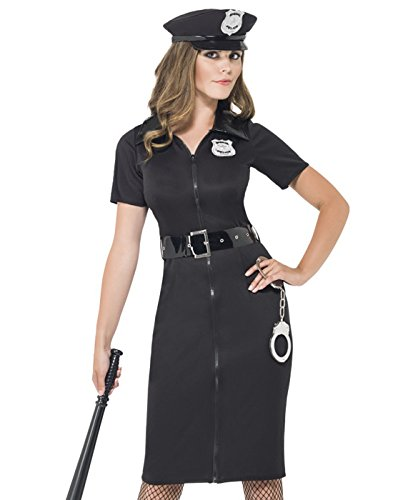Smiffys Women's Constable Cutie Costume with Dress