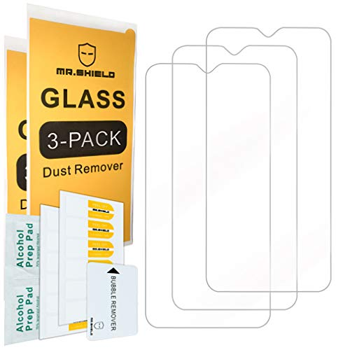 [3-Pack]- Mr.Shield for Samsung Galaxy M10 [Tempered Glass] Screen Protector [Japan Glass with 9H Hardness] with Lifetime Replacement Warranty