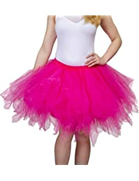 Adult Tutu 50's Vintage Petticoat Tulle Skirt for Women...