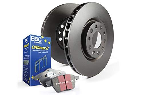 EBC Brakes S1KF1601 S1 Kits Ultimax 2 and RK Rotors Incl. Rotors and Pads Front Rotor Dia. 12.9 in. S1 Kits Ultimax 2 and RK Rotors