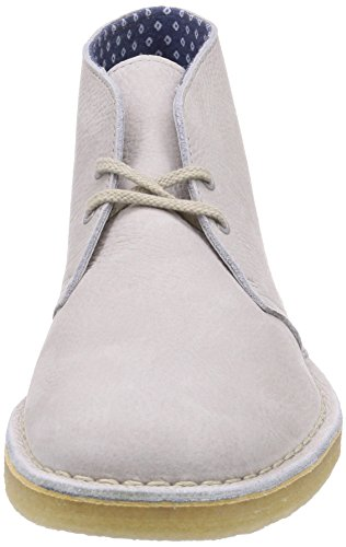 stone Nubuck Grigio Originals Clarks Polacchine Boot Desert Uomo 7P0OY