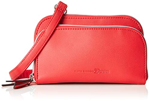 Tom Tailor Denim - Tyra, Bolsos bandolera Mujer, Rojo (Rot), 19x11.5x3 cm (B x H T)