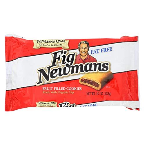 Newmans Own Organics Fig Newmans - Fat Free - Case of 6 - 10 - Fig Organics Newmans Own