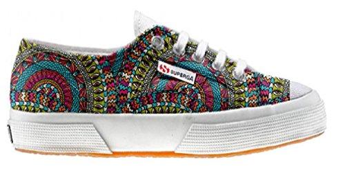 Superga Customized zapatos personalizados Mexican Texture (Producto Artesano)