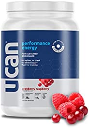 UCAN Energy Powder with SuperStarch (Cranberry Raspberry) - 20 Servings