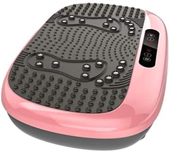 Xinqinghao 3D Full Body Vibration Platform Body Shaker Flat Platform Massager Fitness Platform Home Gym Office Training Equipment Power Board for Weight Loss, Wellness & Toning, 99 Levels 3