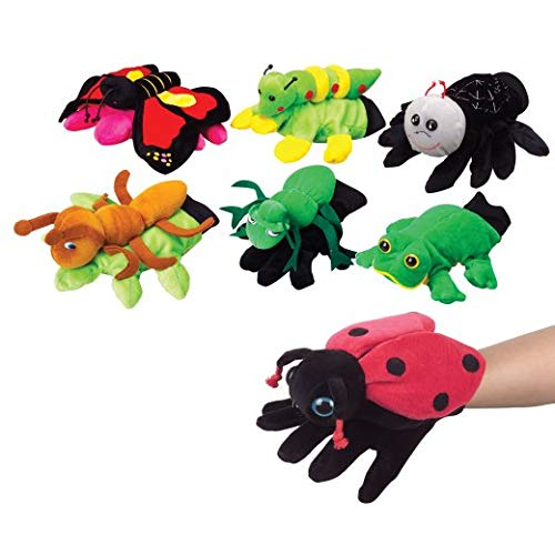 - Garden Friends Glove Puppets Set of 7