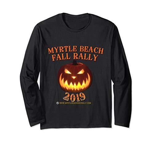 Official Myrtle Beach Bike Rally. 2019 Fall Rally Apparel Long Sleeve T-Shirt