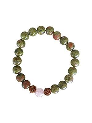 Mala Bracelet by Kuratif – Real Gemstones. Yoga, Relaxation, Meditation & Intention