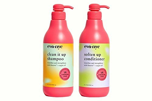 Eva NYC Clean It Up Shampoo and Soften Up Conditioner - 33.8 - Eva Products