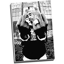 Tupac Shakur 2Pac Hip Hop Canvas Print Wall Art Picture Canvas Prints Large A1 30 X 20 Inches (76.2Cm X 50.8Cm)