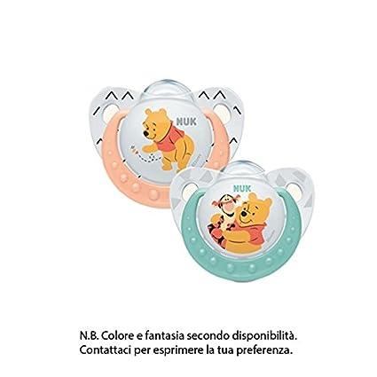 NUK chupete Disney Baby silicona 6 - 18 meses con Box ...