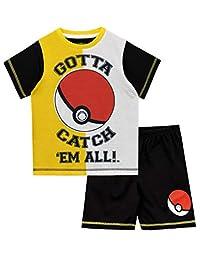 Pokemon Boys' Pokeball Pajamas