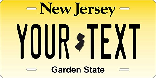 New Jersey 1991 Personalized Custom Novelty Tag Vehicle Car Auto Motorcycle Moped Bike Bicycle License Plate