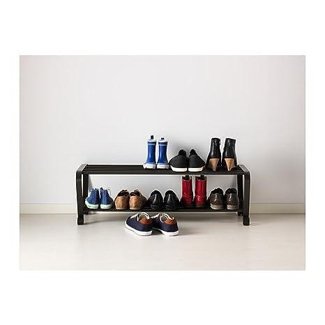 Ikea Portis - Zapatero, Negro - 90 cm: Amazon.es: Hogar
