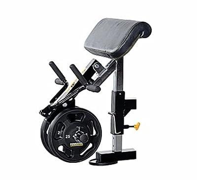 Powertec Fitness Workbench Curl Machine Accessory, Black from Powertec Fitness