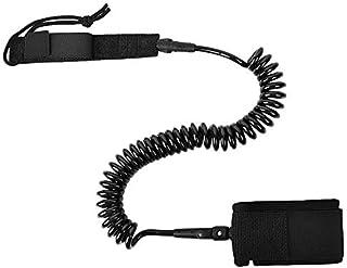 TOOGOO 10 Pies Accesorios para Tablas de Surf Cuerda de Pie Cuerda de Protección Cuerda de Resorte Retráctil Cuerda Segura Línea de Vida