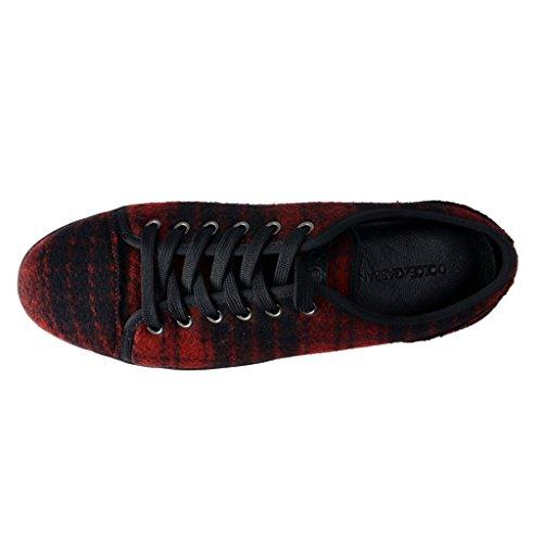 Dolce & Gabbana Man Gymnastikskor Röd