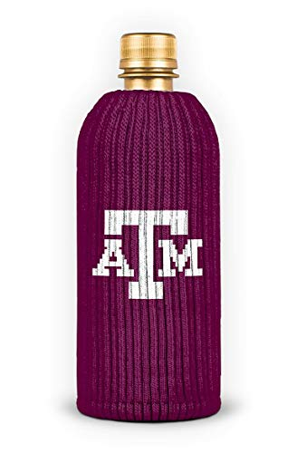 (FREAKER Fits Every Bottle Can Beverage Insulator, Stops Bottle Sweat, NCAA Collegiate College Texas A&M University Aggies )
