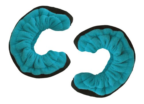 Ice Skate Soakers (A&R Sports TuffTerrys Hockey Blade Cover, Large, Teal)