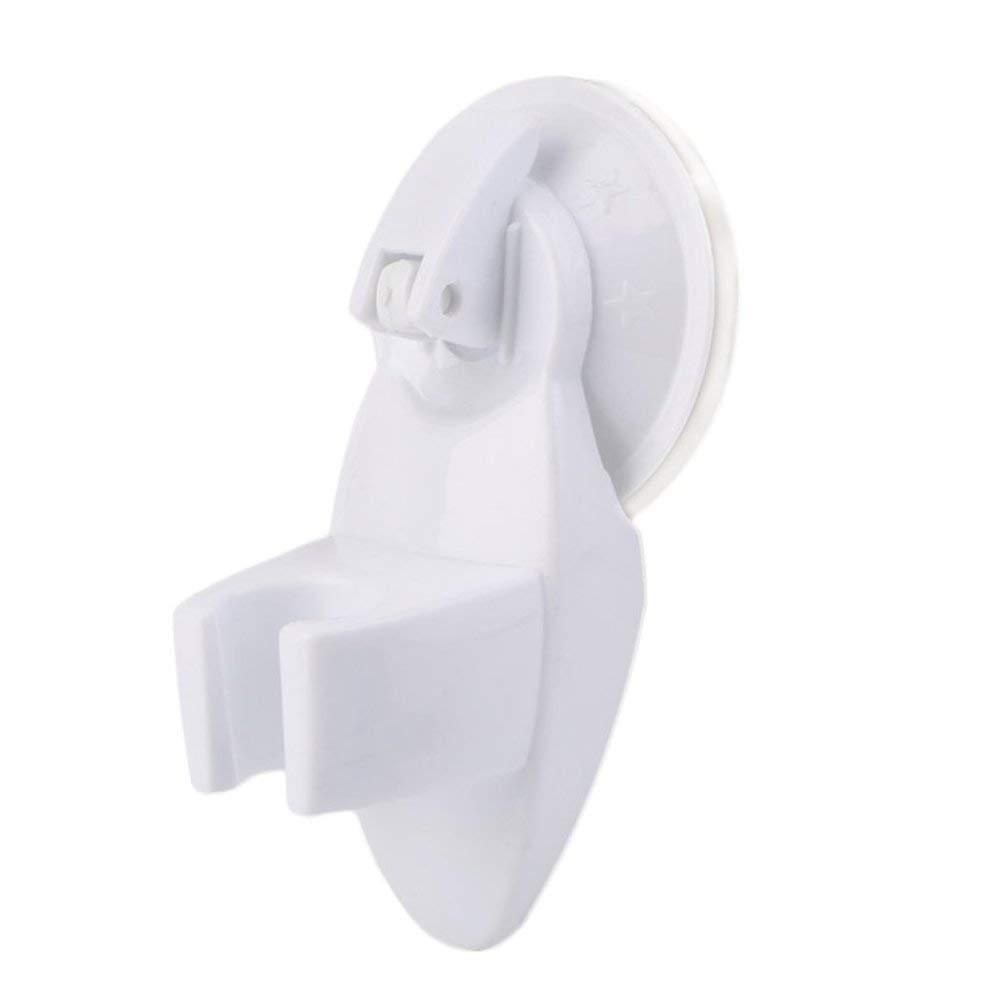Emily Bathroom Suction Type Shower Room Seat Chuck Holder Shower Fixed Bracket Shower Hand Head Holder White