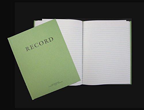 Green Military Log Book, Record Book, Memorandum Book, 8