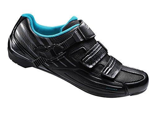 Shimano Integrated (Shimano Women's SH-RP3 Road Shoes 39 BLACK)